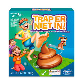 Trap er niet in! kinderspel