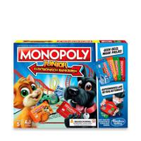Hasbro Gaming Monopoly Junior electronisch bankieren kinderspel