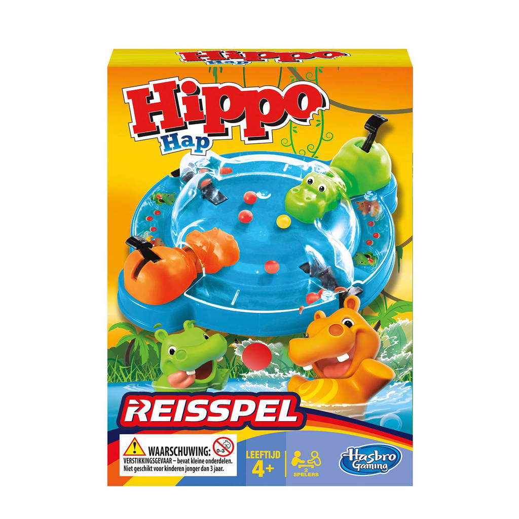 Hasbro Gaming Hippo Hap  reisspel