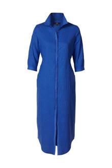 Mart Visser blousejurk kobaltblauw