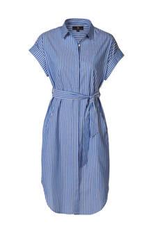 Mart Visser gestreepte blousejurk blauw