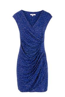 jurk met stippen blauw