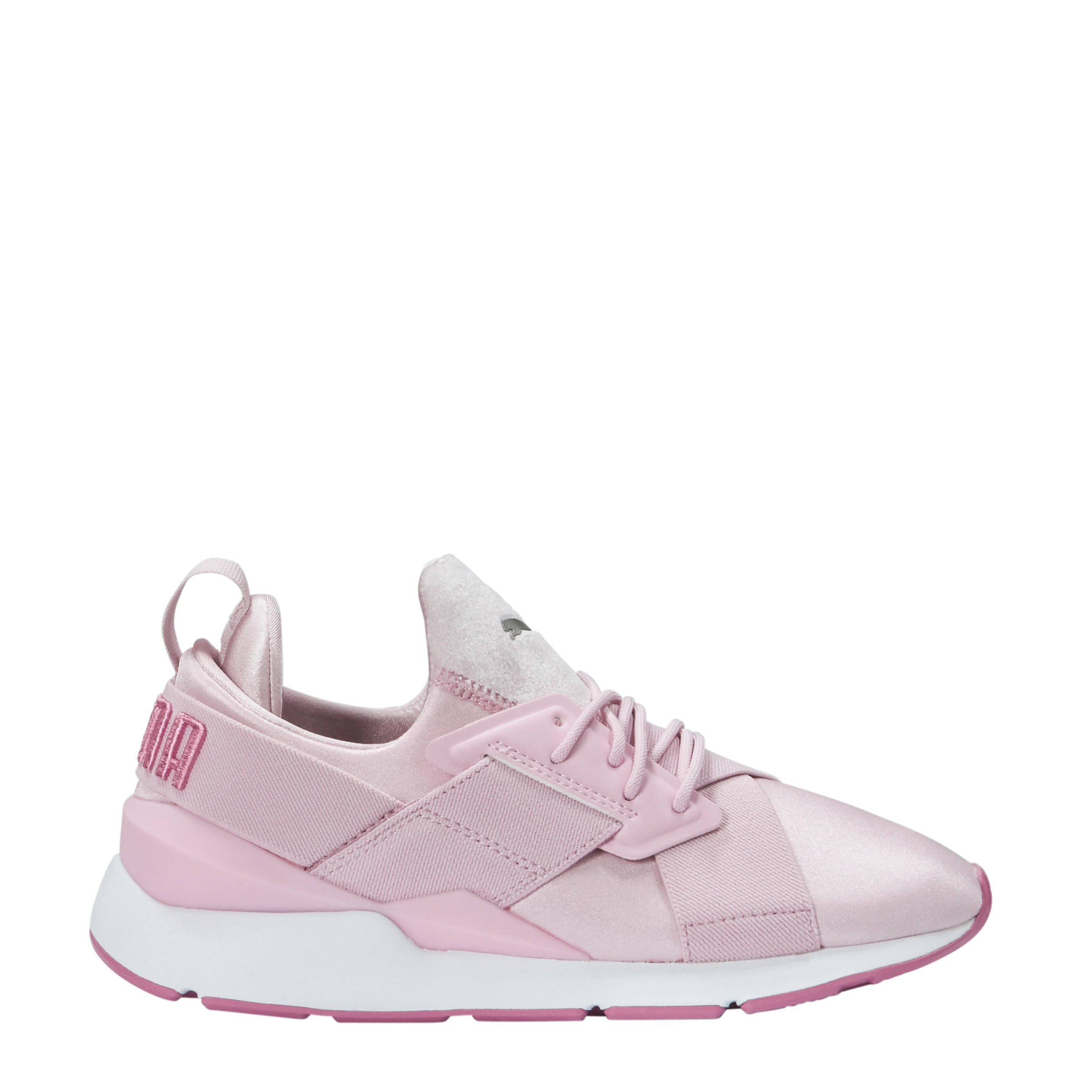 Muse Satin sneakers lichtroze