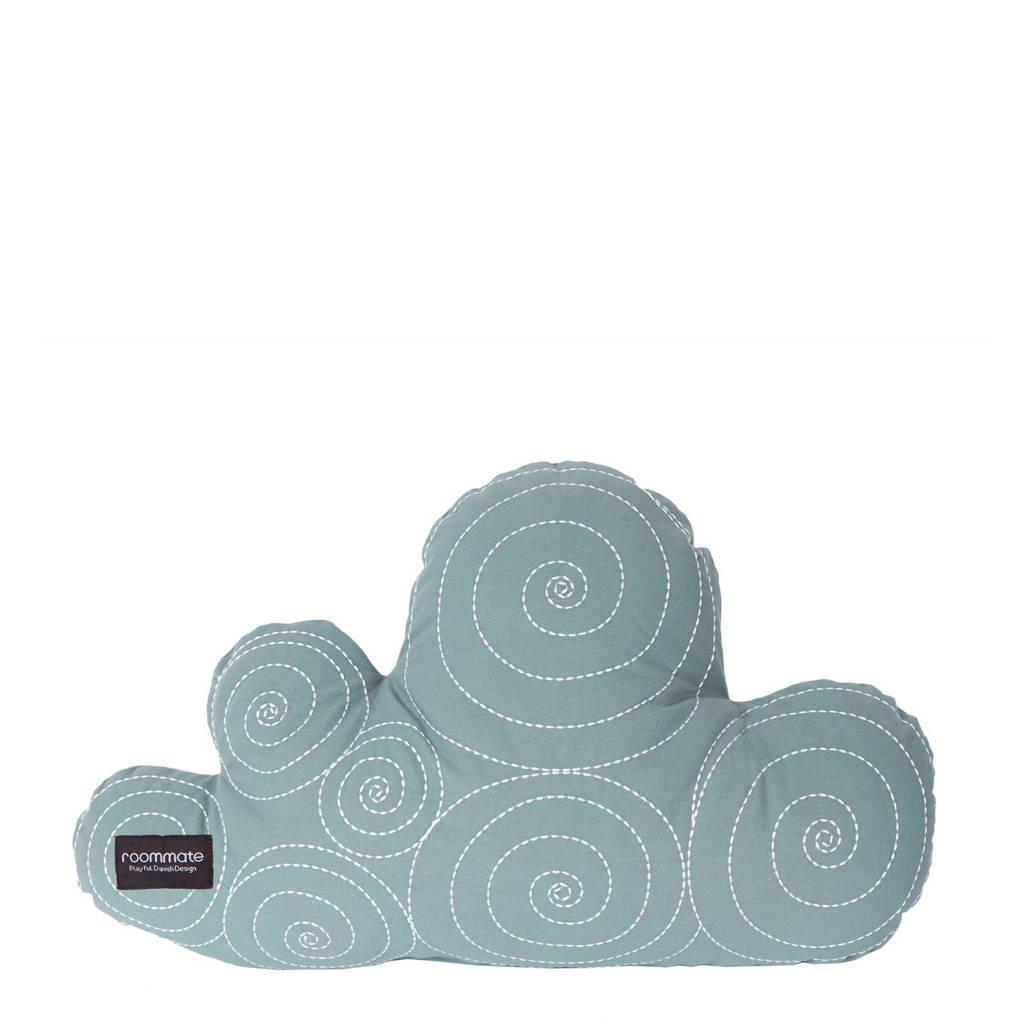 Roommate sierkussen Cloud  (64x40 cm), Sea grey