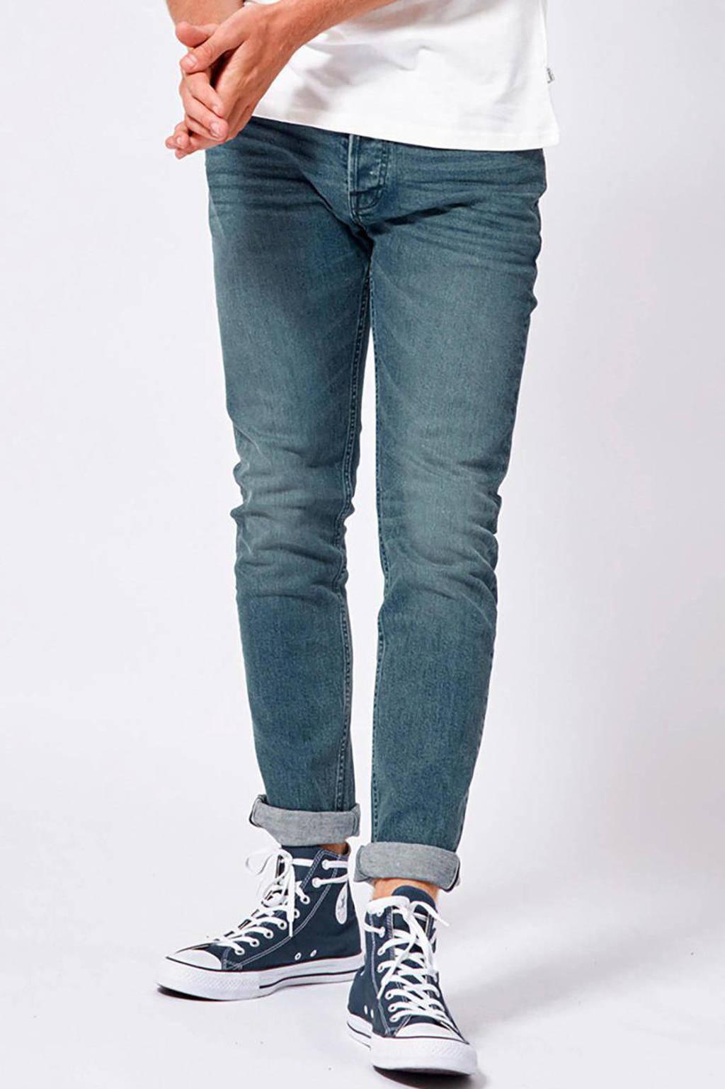 America Today slim fit jeans Neil, Blue oriental