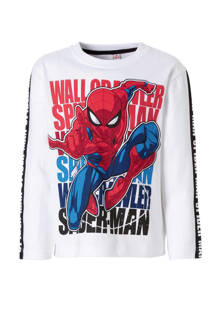 Spider-man longsleeve wit