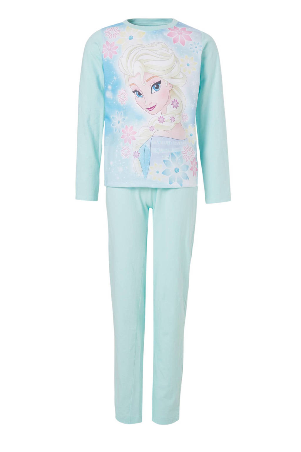 Frozen pyjama mintgroen, Mintgroen