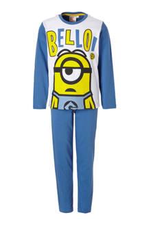 Minions pyjama blauw