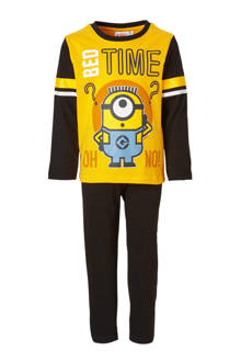 Minions pyjama geel/zwart
