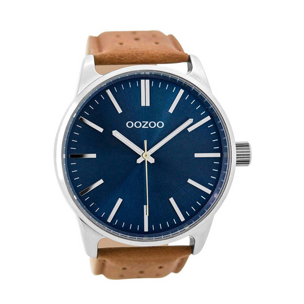 OOZOO Timepieces horloge - C9422, Bruin