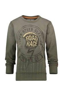 sweater Noud legergroen
