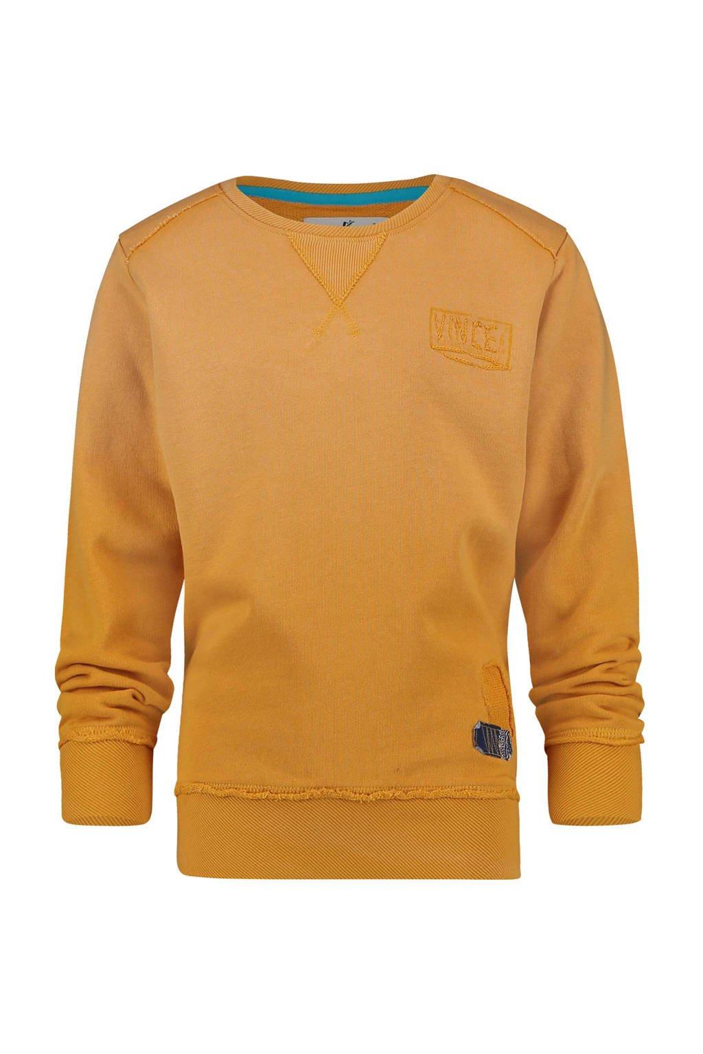 Vingino sweater Niels okergeel, Okergeel