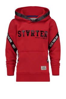 hoodie Nedal rood