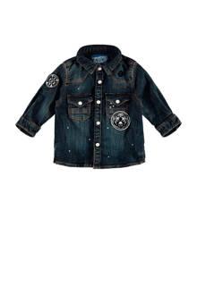 denim overhemd Leon
