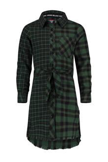 geruite blousejurk Pixxie groen