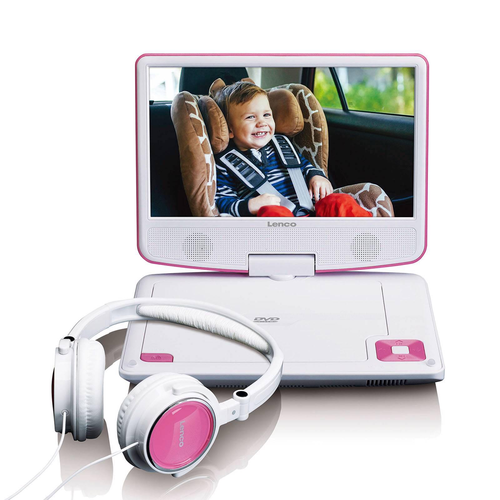 Lenco DVP-910PK + 5 DVD Pack Portable DVD speler + 5 DVD pack