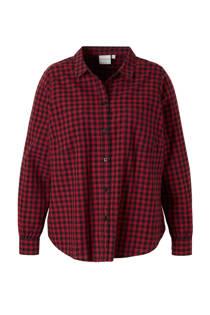 JUNAROSE geruite blouse (dames)