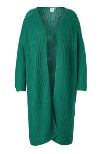 JUNAROSE vest met kabels (dames)