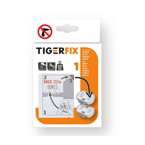 Tiger Bevestigingsmateriaal TigerFix Type 1 metaal 398730046