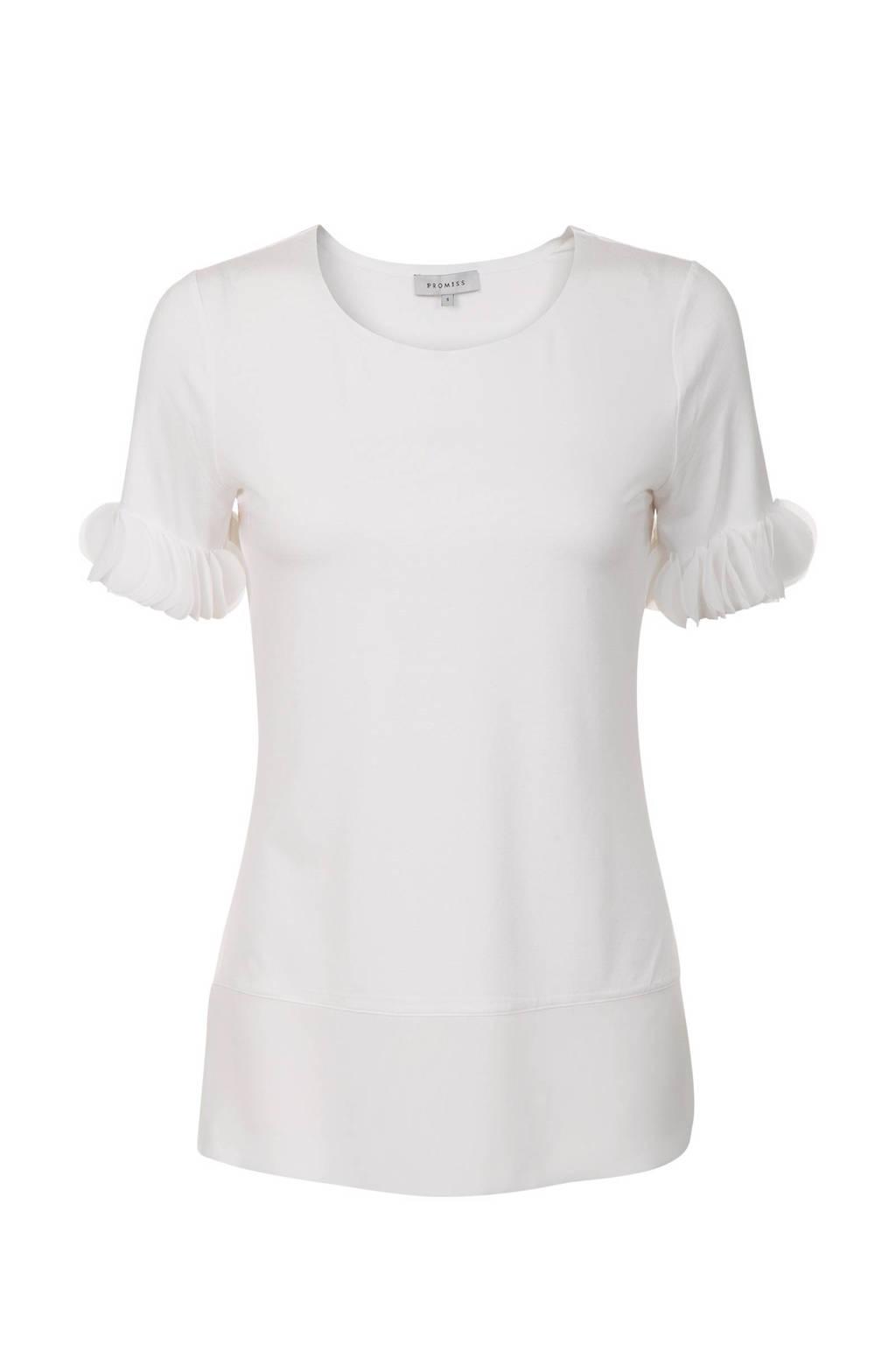 Promiss T-shirt wit, Wit