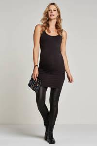 MAMALICIOUS skinny zwangerschapslegging MLNEWTESSA van gerecycled polyester zwart, Zwart