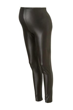 zwangerschapslegging Tessa van gerecycled polyester zwart