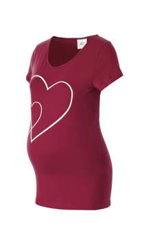 zwangerschaps T-shirt met printopdruk