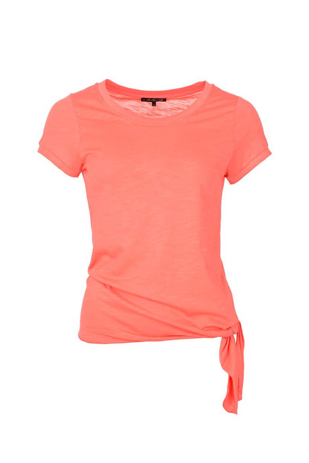 La Ligna T-shirt koraal, Koraal