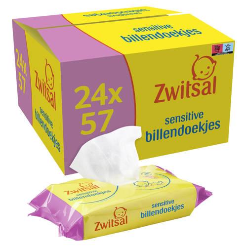 Zwitsal Sensitive 24x57 billendoekjes kopen