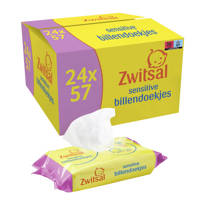 Zwitsal Sensitive 24x57 billendoekjes - baby