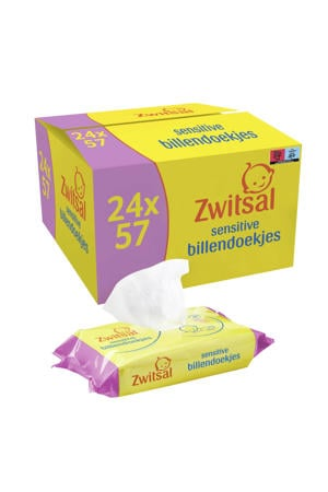 Sensitive 24x57 billendoekjes - baby