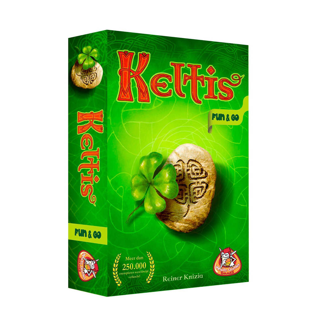 White Goblin Games Keltis Fun & Go bordspel