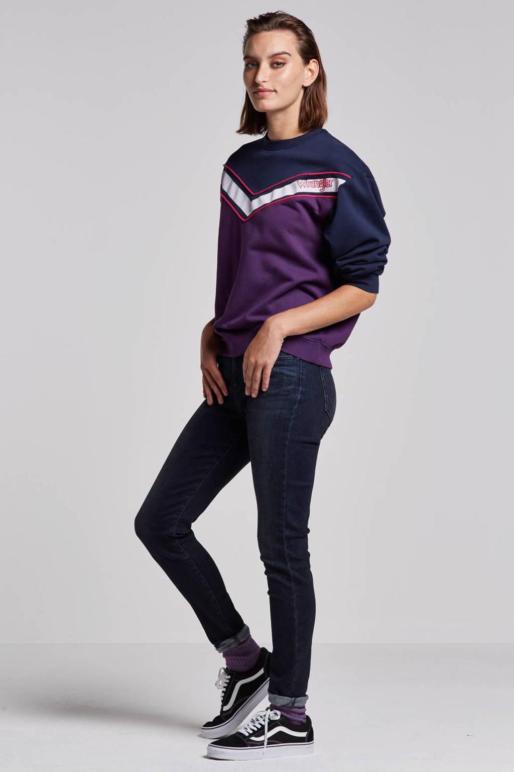 Wrangler Skinny high jeans, Dusty bite