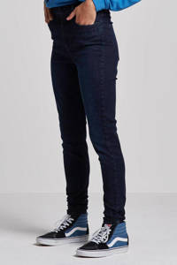 Wrangler Skinny jeans tainted blue, Tainted blue