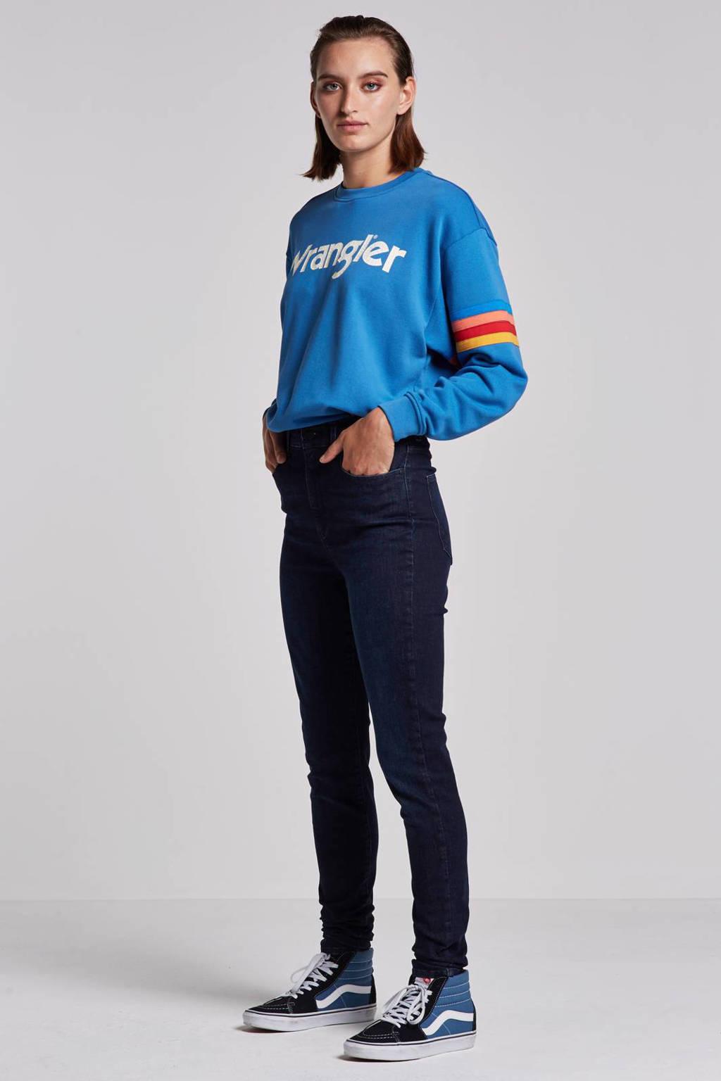 Wrangler Skinny jeans, Tainted blue