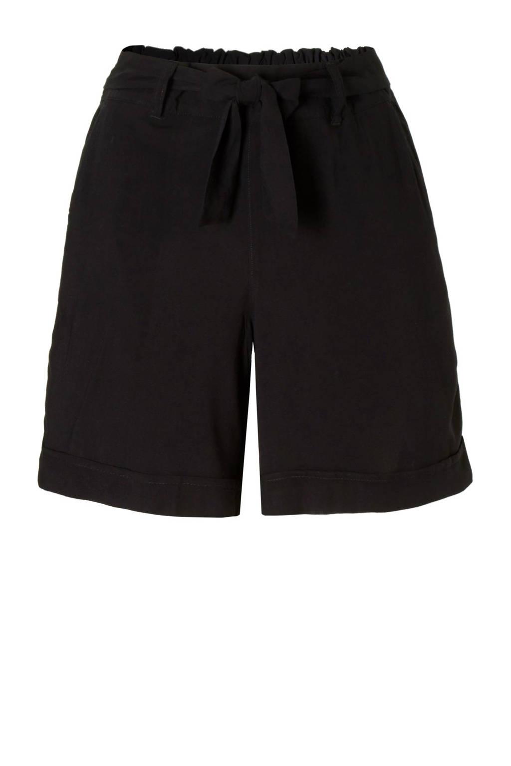 13facac27d5 C&A Yessica high waisted korte broek zwart | wehkamp