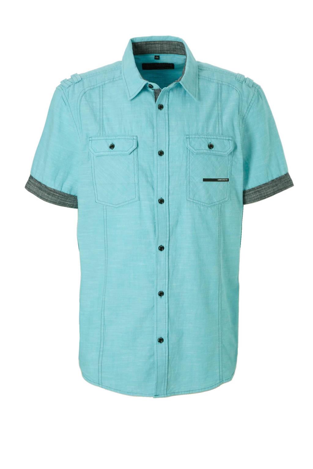 Mintgroen Heren Overhemd.C A Angelo Litrico Regular Fit Overhemd Mintgroen Wehkamp