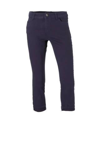 Yessica jeans capri donkerblauw