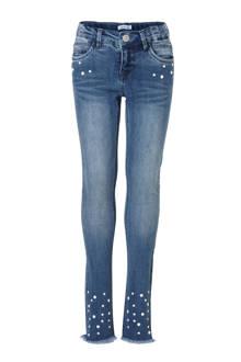 KIDS skinny jeans Polly met studs