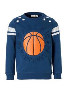 KIDS sweater Harlem Casper blauw