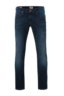 Tommy Jeans slim fit jeans Scanton donkerblauw (heren)