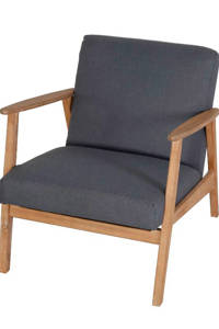whkmp's own loungestoel Boda, Grijs