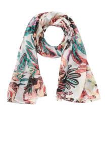 ONLY sjaal met bloemendessin