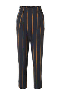 ONLY loose fit broek met strepen