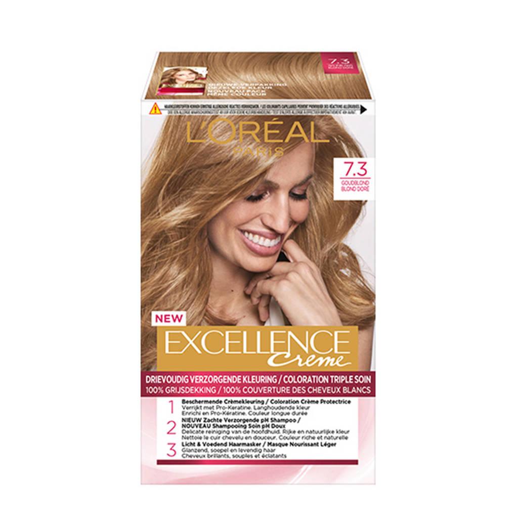 L'Oréal Paris Excellence Crème haarkleuring - 7.3 Goudblond