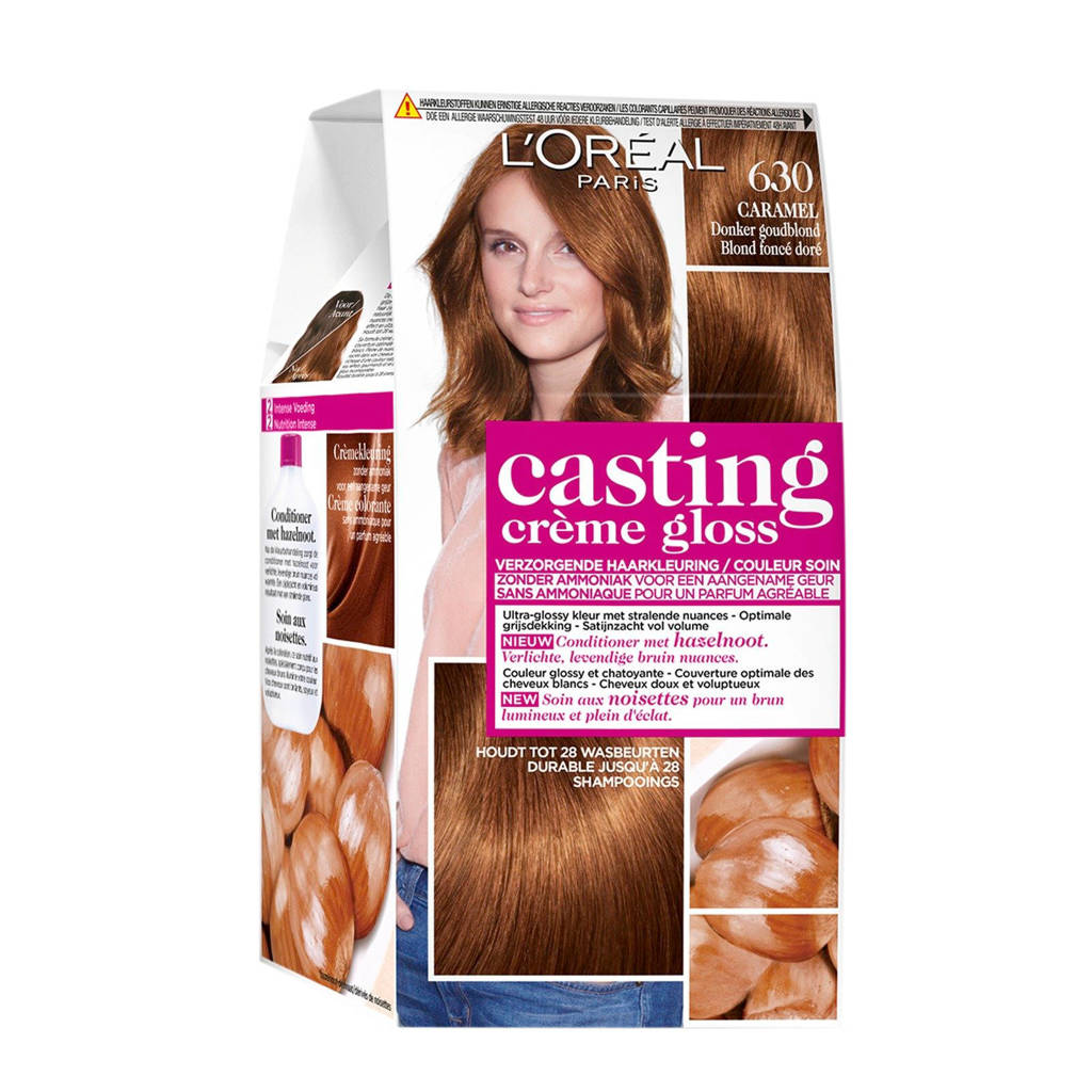 L'Oréal Paris Casting Crème Gloss haarkleuring - 630 Caramel