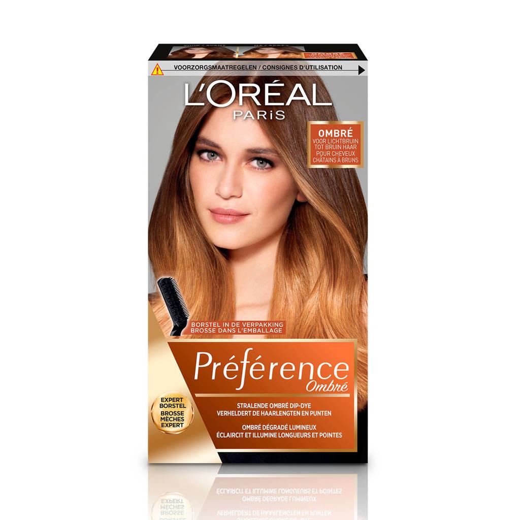 L'Oréal Paris Préférence Wild Ombrés haarkleuring - no1