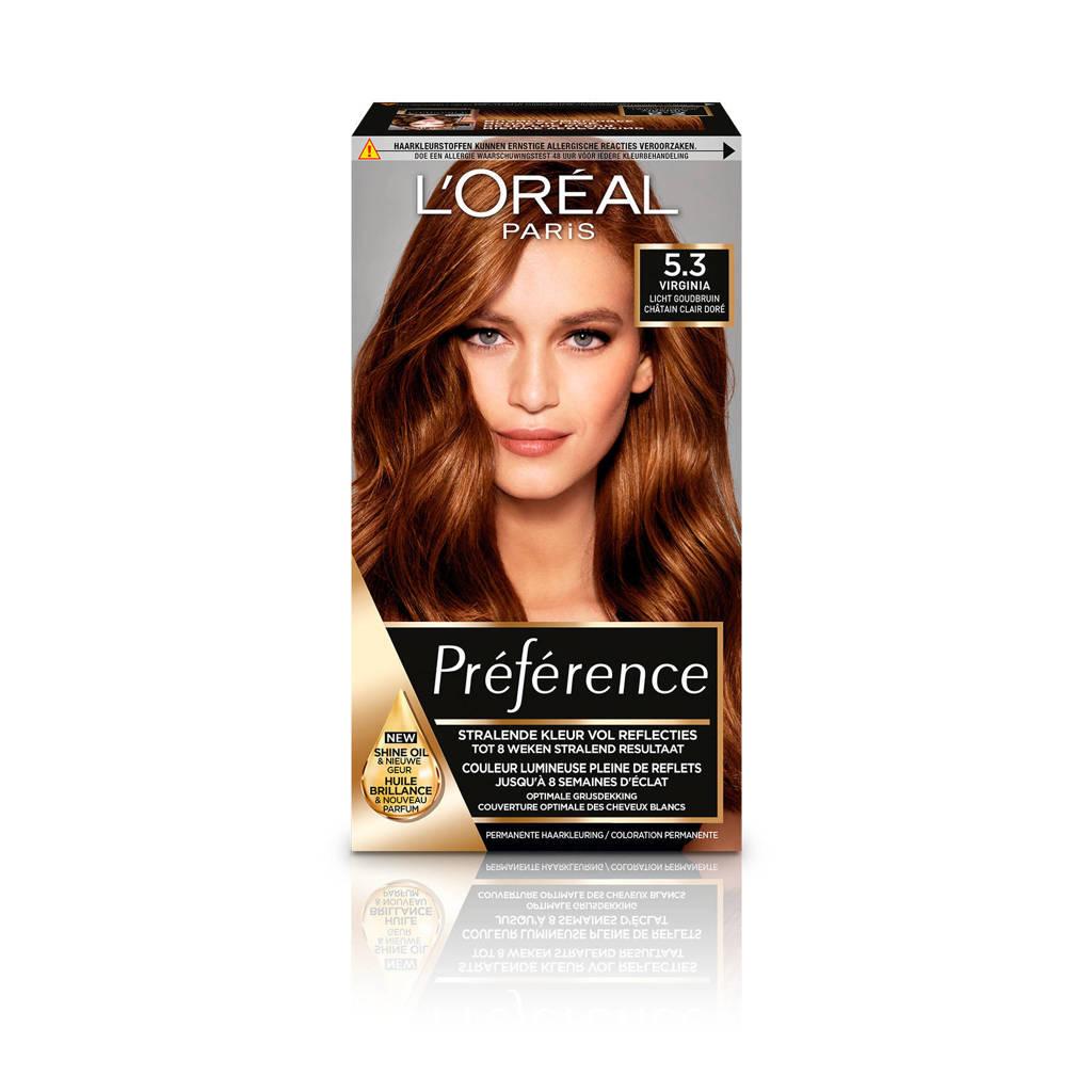 L'Oréal Paris Préférence haarkleuring - 5.3 Virginie