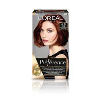 L'Oréal Paris Préférence haarkleuring - 4.5 Riviera Mahonie, 4.5 Riviere Mahonie