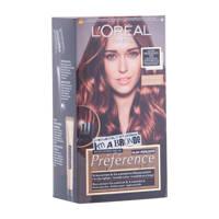 L'Oréal Paris Préférence haarkleuring - 6 Mahonie, Châtain foncé